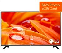 "$279.99 LG Electronics 32LF595B 32"" 720p Smart LED TV+$125 Dell Gift Card"