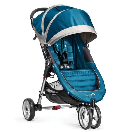 $174.99 Lowest Price Ever! Baby Jogger City Mini Stroller In Teal, Gray Frame