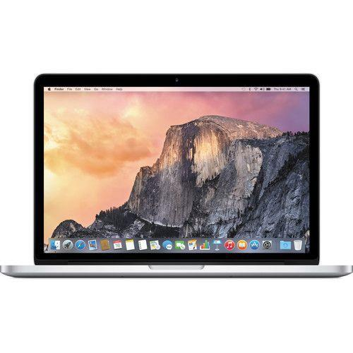 "$1279.99 Apple MacBook Pro with Retina display Latest Model 13.3"" Display 8GB Memory 256GB Flash Storage Silver MF840LLA"