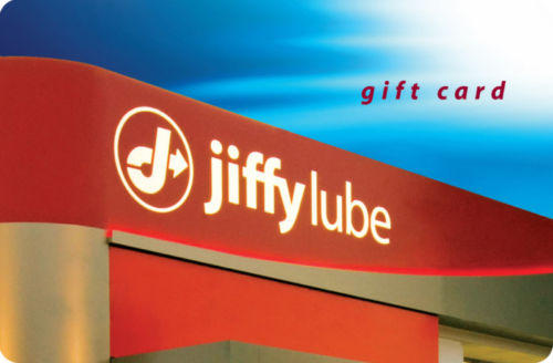$40 + Free Shipping $50 Jiffy Lube Gift Card for $40 (US Mail Delivery)