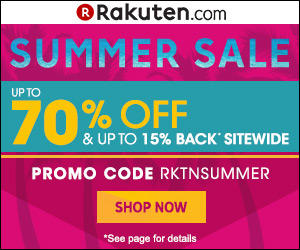 最高可得15%Rakuten Super Points™ Rakuten Buy.com 全场购物优惠