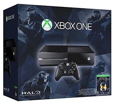 $299.99 Microsoft Xbox One Halo 500GB Console + Halo Master Chief Collection Bundle