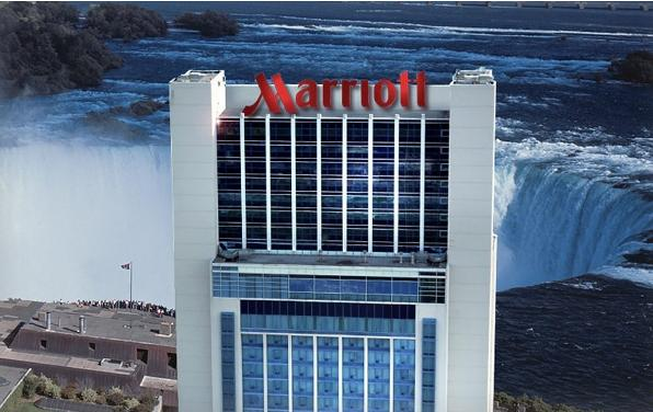 $108  Marriott Hotel on Niagara Falls @ Groupon