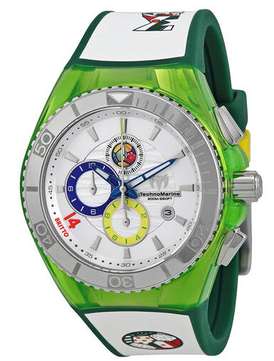$99 Technomarine Cruise Tribute Mexico Edition By Britto Unisex Watch 114023B