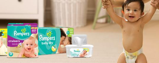 Up to 44% OffSelect Pampers Sale @ Drugstore