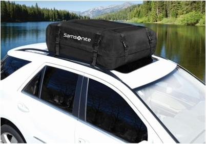 $34.95  Samsonite 15-Cubic-Foot Rooftop Cargo Carrier
