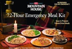 $36.67 MOUNTAIN HOUSE JUST IN CASE...72 HOUR KIT