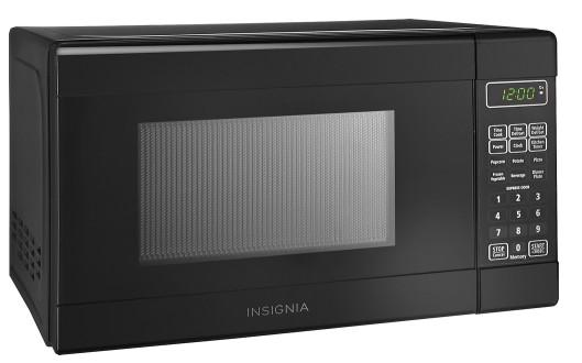 Insignia 0.7 Cu. Ft. Compact Microwave NS-7CM6-BK