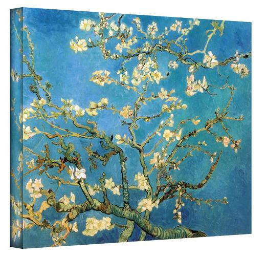 Almond Blossom'' by Vincent Van Gogh Painting Print on Canvas