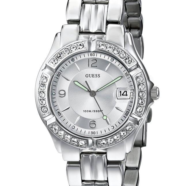 Extra 30% Off  GUESS Women's Mid-Size Sporty Chic Watches