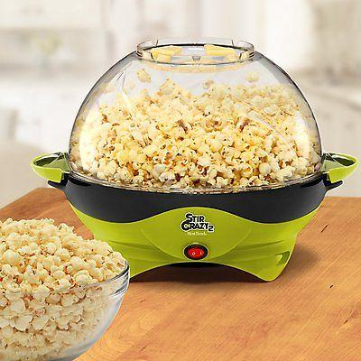 West Bend Stir Crazy Corn Popper, Green