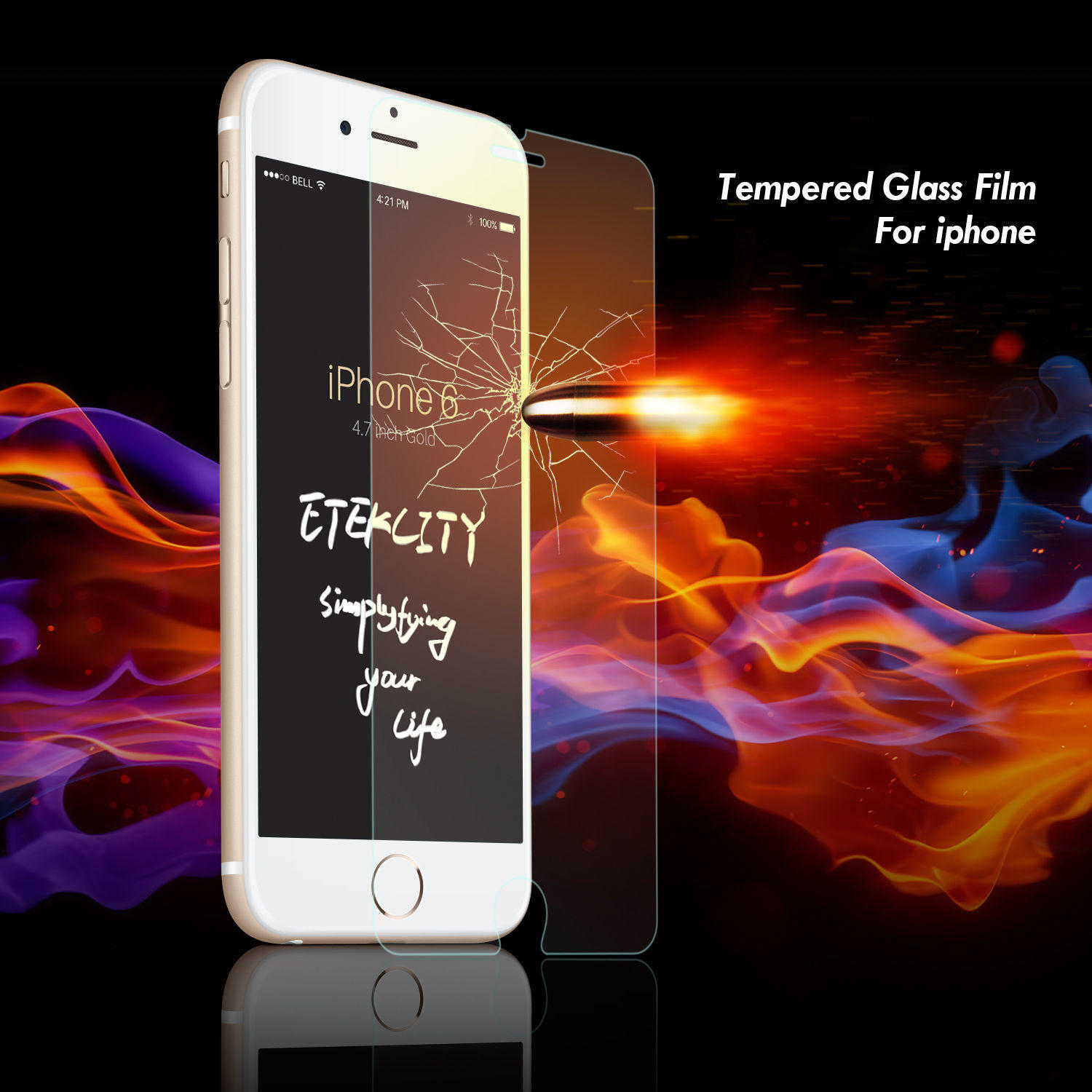 Extra 50% Off $.99 New PRO+ Real Tempered Glass Film Screen Protector
