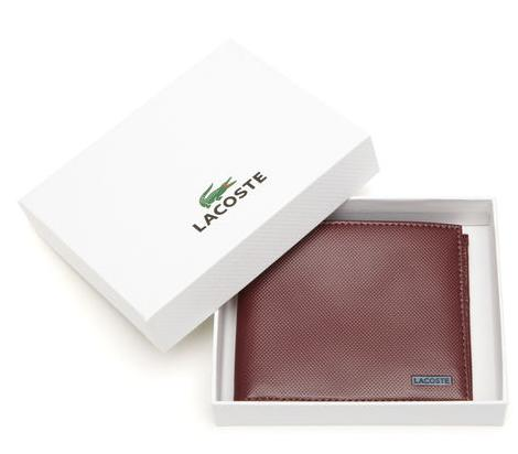 EDWARD LARGE BILLFOLD WALLET @ Lacoste