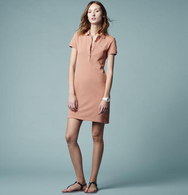 Classic Pique Polo Dress @ Lacoste