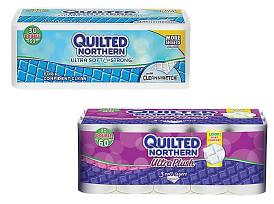 $12.99 Quilted Northern Ultra Soft & Strong, 2-Ply, 30 Rolls/Case