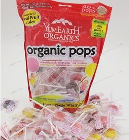 $5.19 YumEarth Organic Lollipops, 12.3 Ounce Bag