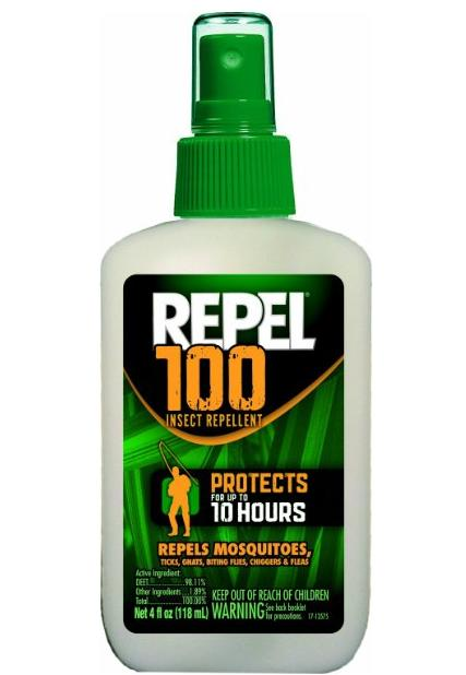$5.59 Repel 100 Insect Repellent, 4 oz. Pump Spray, Single Bottle