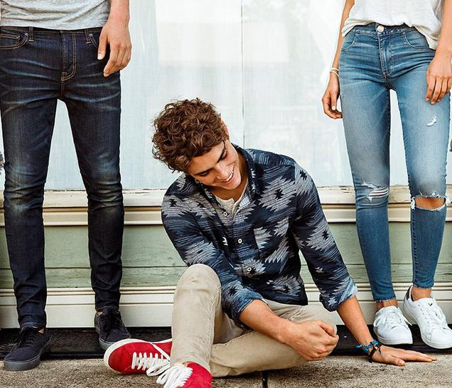 Buy 1 Get 1 50% Off Select AEO Jeans @ American Eagle