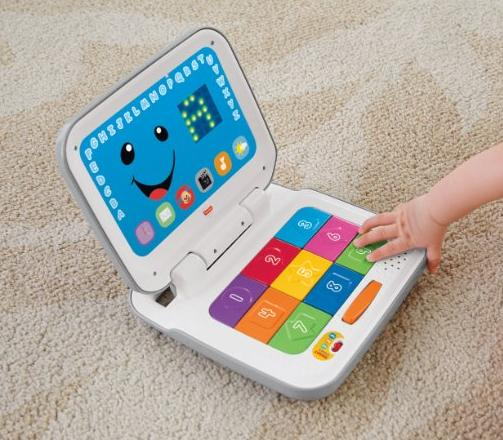 $8.11 Fisher-Price Laugh & Learn Smart Stages Laptop - White @ Target.com