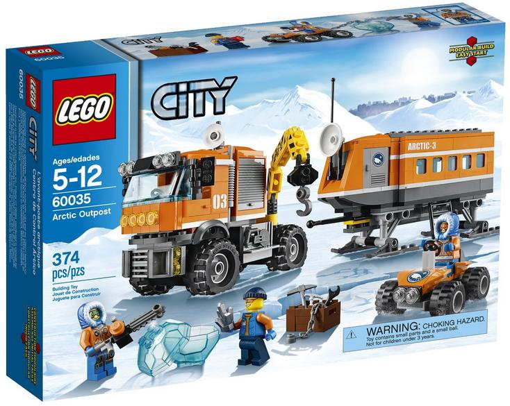 LEGO® City Arctic Outpost 60035