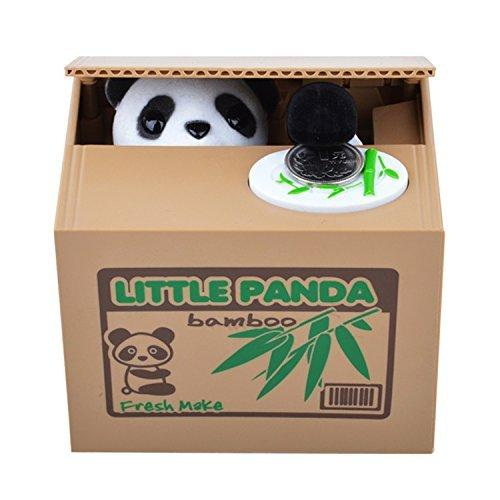 $11.19 Mansa Cute Stealing Coin Cat Money Box Panda Bank
