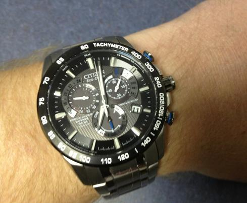 $299.99 Citizen Men's Titanium Dress Watch AT4010-50E