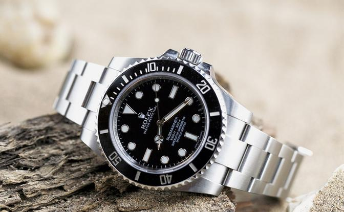$5999.99 Rolex Men's Submariner Watch 114060