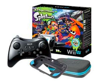 $299.99 Nintendo Wii U Splatoon or Mario 3d World bundle + Wii U Pro Controller + Power A Essentials Kit