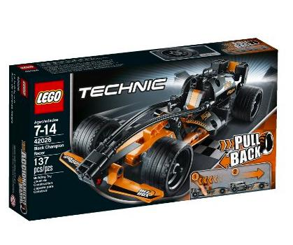 $12.99 LEGO Technic 42026 Black Champion Racer Model Kit