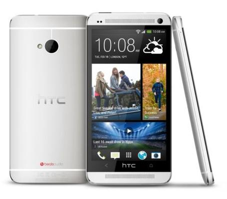 $99.99 Refurbished Factory Unlocked HTC One M7 32GB Silver Verizon Smartphone HTC6500LVW