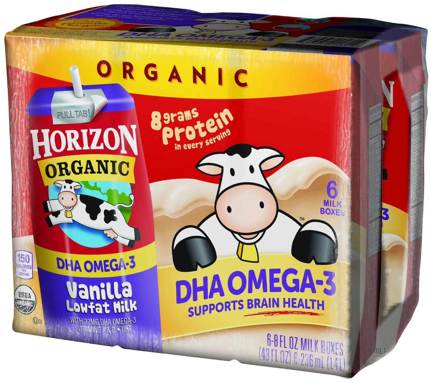10% Off Select Horizon Organic Milk Boxes Sale @ Amazon