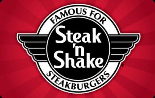 $20 $25 Steak 'n Shake Gift Card for only $20 - mail delivery