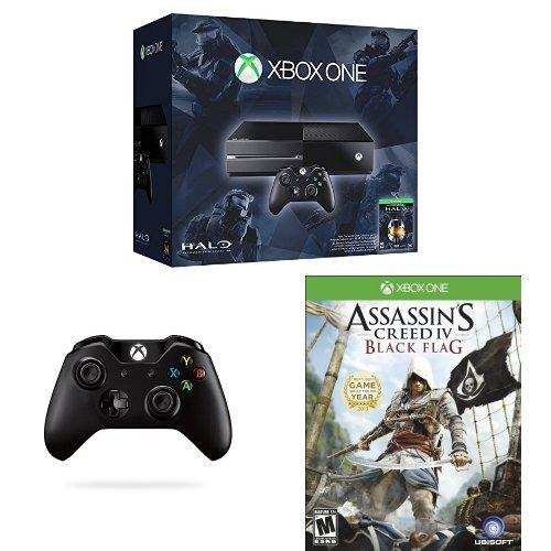 $349.00 Xbox One Halo: The Master Chief Collection 500GB with Second Controller and Assassin's Creed