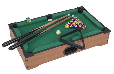 $17.99 Trademark Games Mini Table Top Pool Table with Accessories