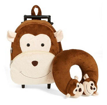 $25.9 Popatu 'Monkey' Rolling Backpack (Kids)
