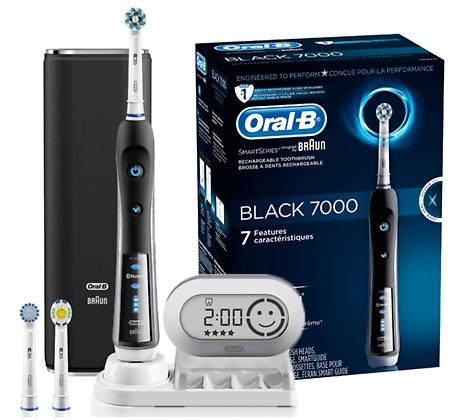 Oral-B 7000 SmartSeries with Bluetooth Technology Black at Walgreens