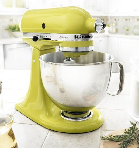 KitchenAid KSM150PSPE Artisan 5-Quart Stand Mixer,Pear