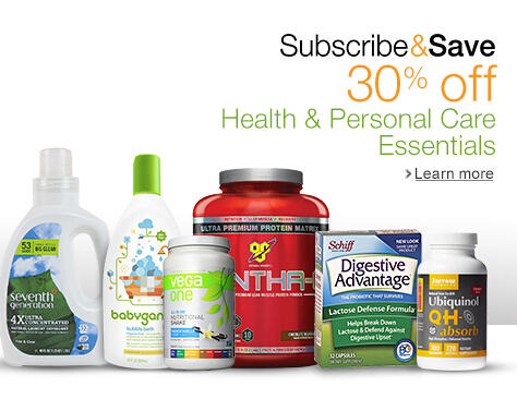 30% Off Health and Personal Care Essentials @ Amazon