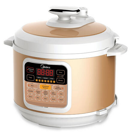 Flash SaleMidea Technology Pressure Cooker MY-CS6002W, 6-Quart