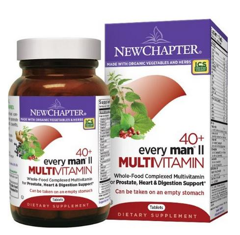 $21.08 New Chapter Every Man Multivitamin, 72 Tablets