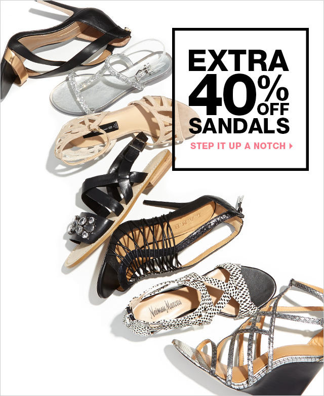 40% Off Sandals @ LastCall by Neiman Marcus