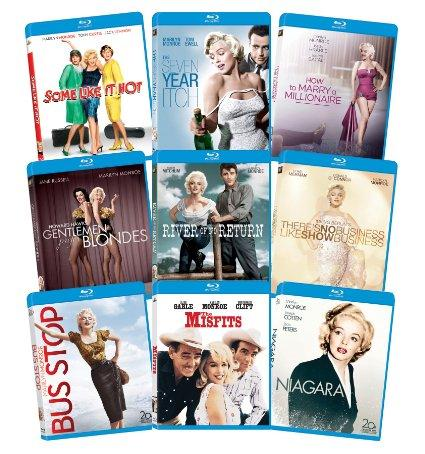 $29.99 Marilyn Monroe: Classic 9 Film Collection (Blu-Ray)