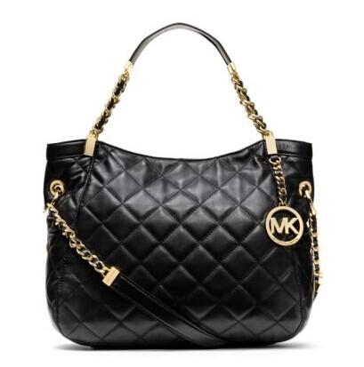 $199 Susannah Large Quilted Leather Tote @ Michael Kors