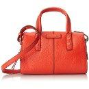 $101.75 Cole Haan Emma Mini Satchel X-Body Top Handle Bag, Fiery Red