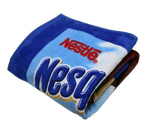 $7.99 Nesquik Bunny Nestle Collectors 100% Cotton Oversized Beach Towel