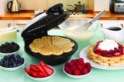 $29.99 Euro Cuisine WM520 Eco Friendly Heart Shaped Waffle Maker @ Amazon.com
