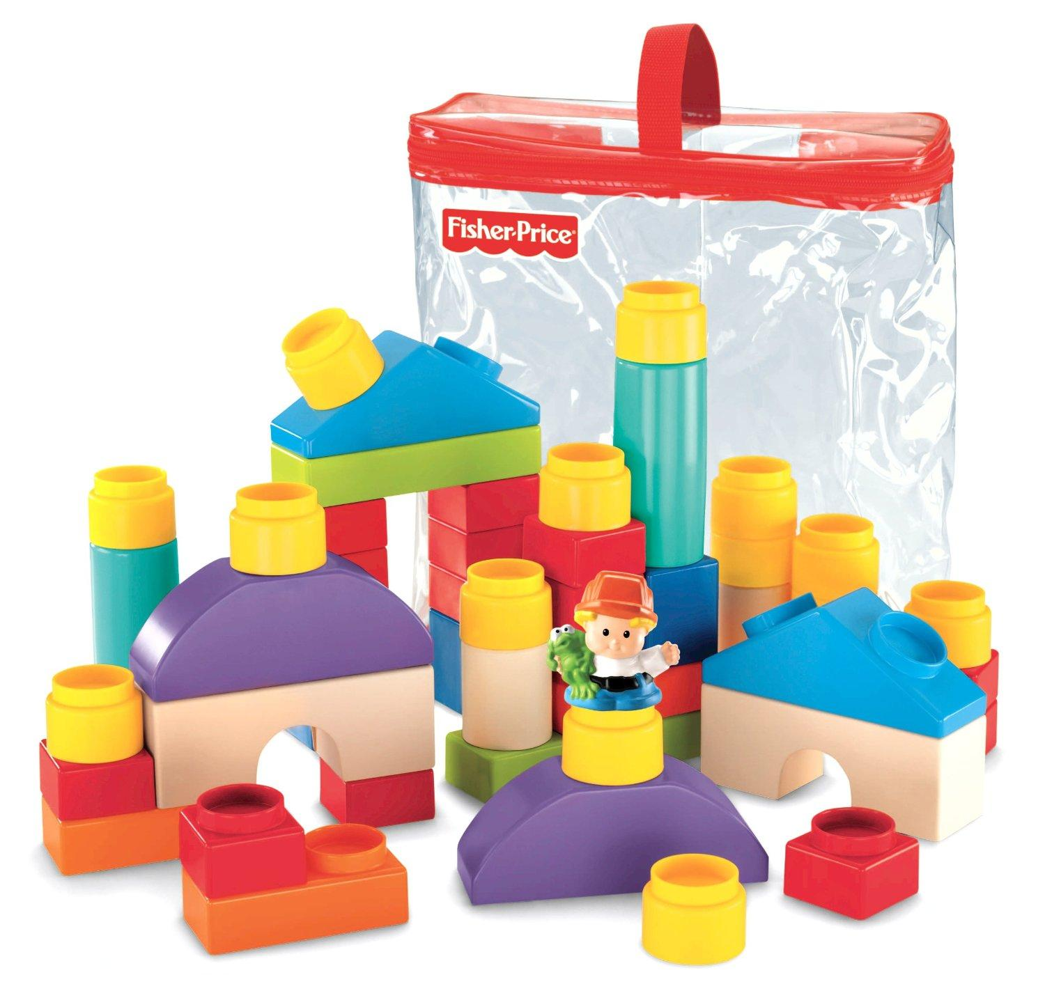 $9.99 Fisher-Price Little People Builders Classic Shapes Blocks