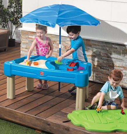$63.98 Step2 Cascading Cove Sand and Water Table @ Amazon.com