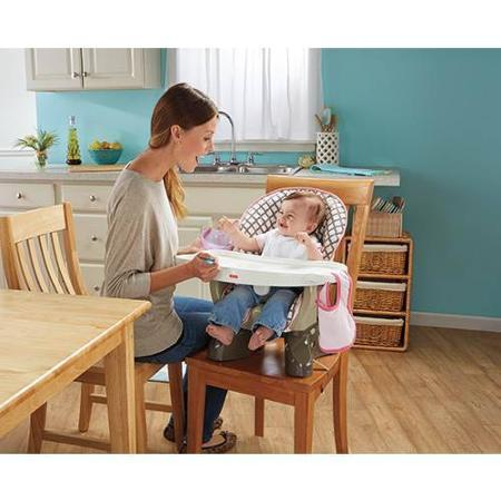 Fisher-Price SpaceSaver High Chair, Flower Pot