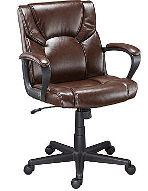 $59.99 Staples Montessa II Luxura Managers Chair